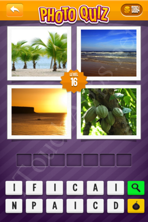 Photo Quiz Geography Pack Level 16 Solution