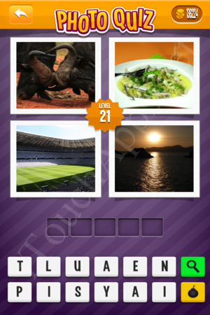 Photo Quiz Geography Pack Level 21 Solution