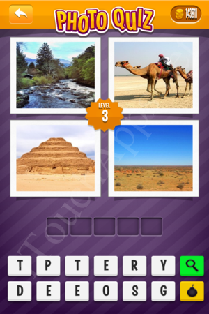 Photo Quiz Geography Pack Level 3 Solution