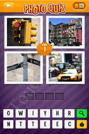 Photo Quiz Hard Pack Level 1 Solution
