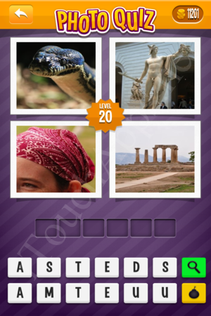 Photo Quiz Hard Pack Level 20 Solution