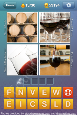 What's the Word Liquids Level 13 Solution