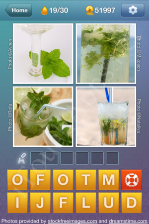 What's the Word Liquids Level 19 Solution