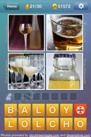 What's the Word Liquids Level 21 Solution