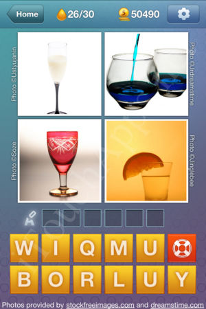 What's the Word Liquids Level 26 Solution