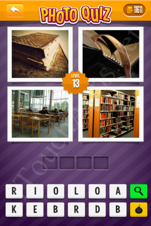 Photo Quiz Medium Pack Level 13 Solution
