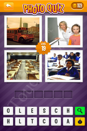 Photo Quiz Medium Pack Level 19 Solution