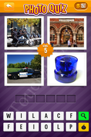 Photo Quiz Medium Pack Level 5 Solution