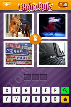 Photo Quiz Music Pack Level 16 Solution
