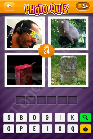 Photo Quiz Music Pack Level 24 Solution