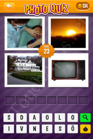 Photo Quiz Sweden Pack Level 23 Solution