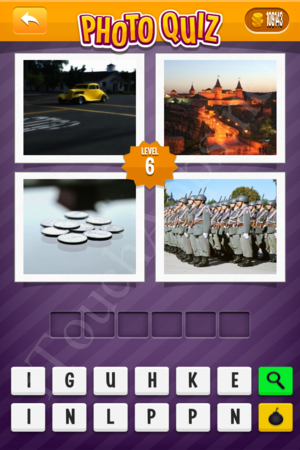 Photo Quiz Sweden Pack Level 6 Solution