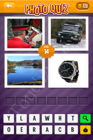 Photo Quiz Tv Pack Level 14 Solution
