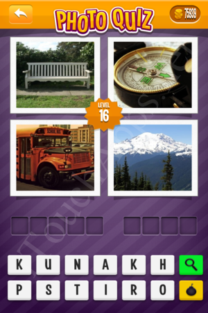 Photo Quiz Tv Pack Level 16 Solution