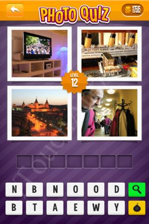 Photo Quiz Uk Pack Level 12 Solution
