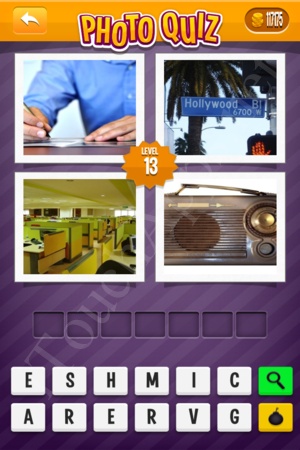 Photo Quiz Uk Pack Level 13 Solution