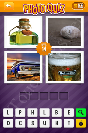 Photo Quiz Uk Pack Level 14 Solution