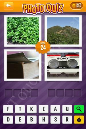 Photo Quiz Uk Pack Level 24 Solution