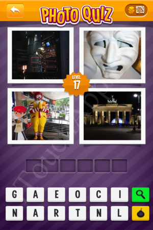 Photo Quiz Usa Pack Level 17 Solution