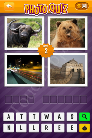 Photo Quiz Usa Pack Level 2 Solution