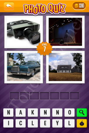 Photo Quiz Usa Pack Level 7 Solution