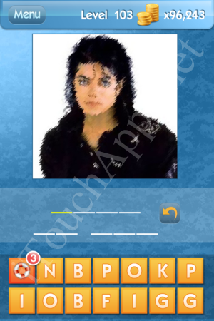What's the Icon Level 103 Answer