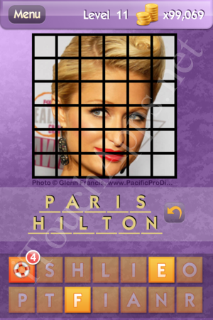Who's the Celeb Level 11 Answer