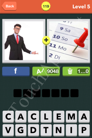Pic Combo Level 119 Answer