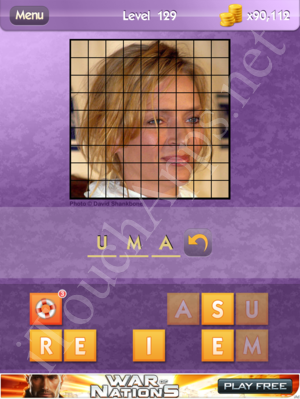Who's the Celeb Level 129 Answer