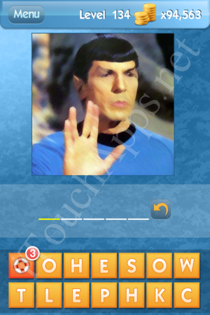 What's the Icon Level 134 Answer