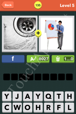 Pic Combo Level 135 Answer