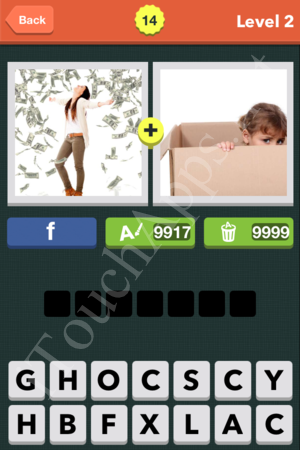 Pic Combo Level 14 Answer