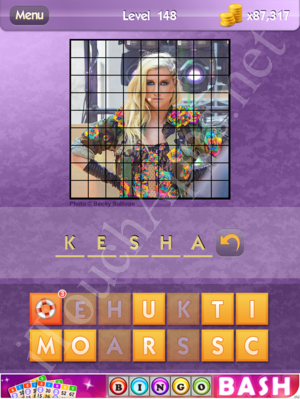 Who's the Celeb Level 148 Answer
