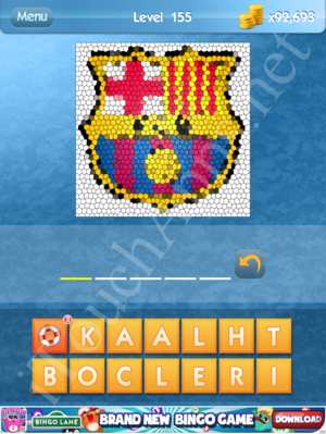 What's the Icon Level 155 Answer