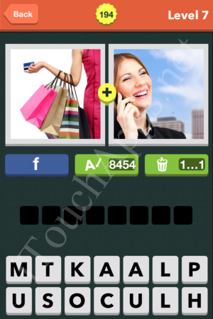 Pic Combo Level 194 Answer