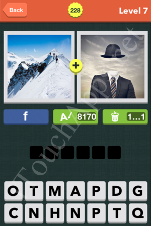 Pic Combo Level 228 Answer