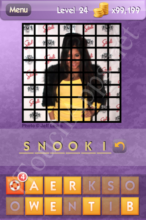 Who's the Celeb Level 24 Answer