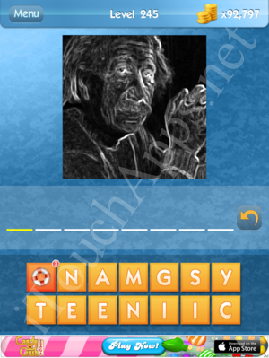 What's the Icon Level 245 Answer