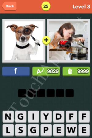 Pic Combo Level 25 Answer