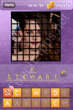 Who's the Celeb Level 26 Answer