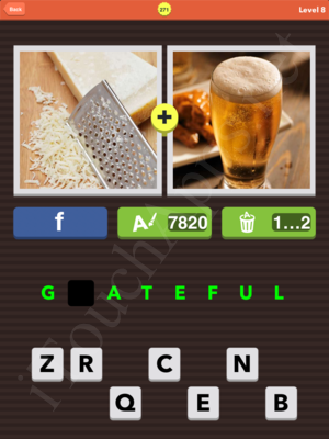 Pic Combo Level 271 Answer