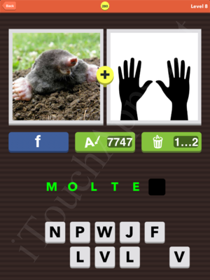 Pic Combo Level 280 Answer