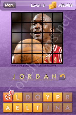 Who's the Celeb Level 3 Answer