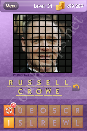 Who's the Celeb Level 31 Answer