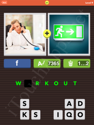 Pic Combo Level 327 Answer
