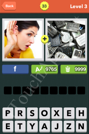 Pic Combo Level 33 Answer