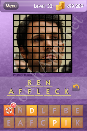 Who S The Celeb Level 33 Answer