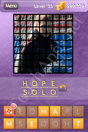 Who's the Celeb Level 35 Answer