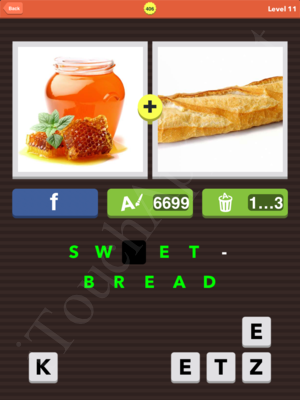 Pic Combo Level 406 Answer