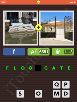Pic Combo Level 411 Answer